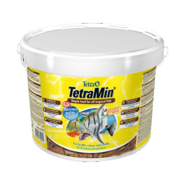 Основной корм для всех видов рыб Tetra Min XL Grossflocken 10 литров
